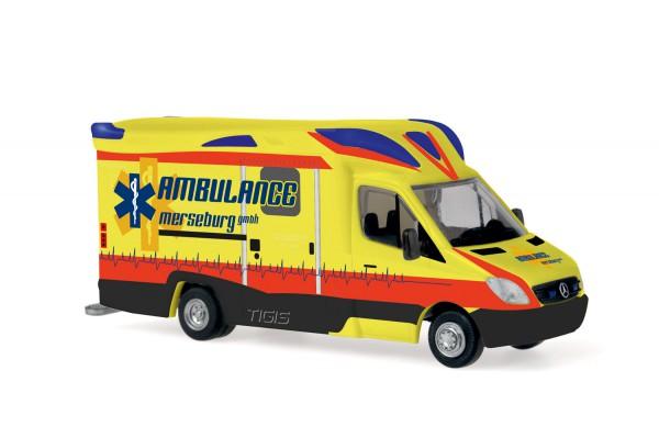 Ambulanz Mobile Tigis Ergo Ambulance Merseburg, 1:87