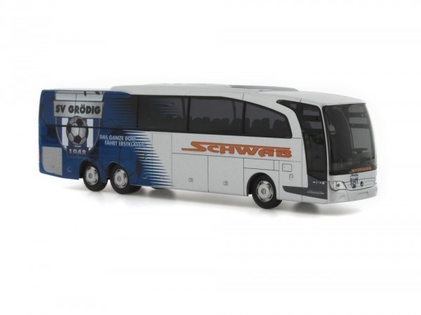 Mercedes-Benz Travego M Schwab Reisen - SV Grödig (AT), 1:87